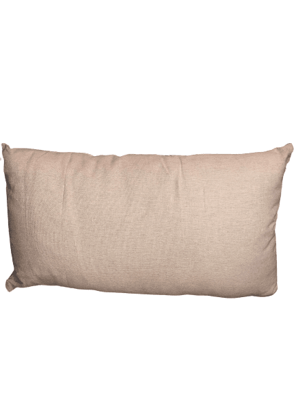 coussin rectangle motif